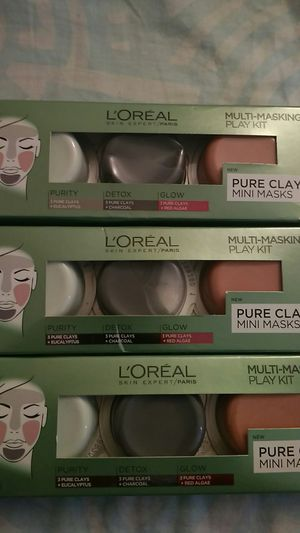 L'ORÉAL PURE CLAY MINI MASKS for Sale in Bellevue, WA