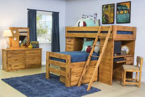 Bunk beds / Young Pioneer Loft bunk beds for Sale in San Diego, CA