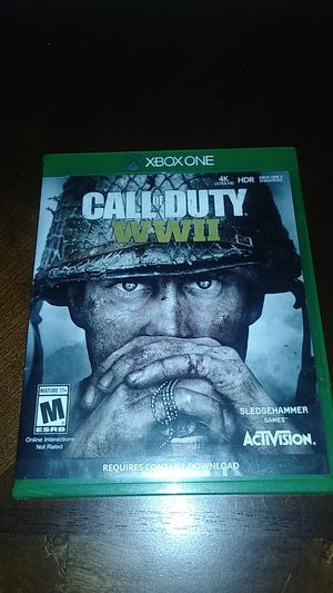 Call of duty world war 2 for Sale in Fresno, CA