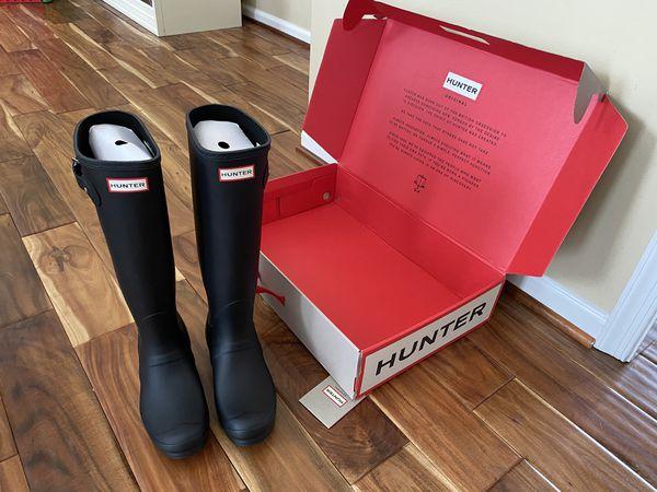 Hunter Boots size 8 women's brand new never worn