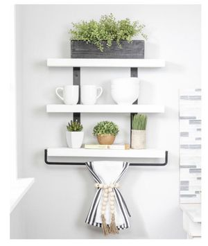 Three tier wall shelves for Sale in Dallas, TX