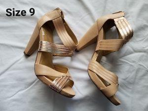 Gold heels for Sale in Flower Mound, TX