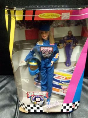 50th anniversary NASCAR Barbie doll for Sale in Fort Washington, MD