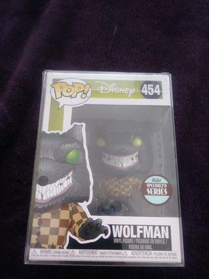 Funko Wolfman #454 (Specialty Series) pop for Sale in Meriden, CT