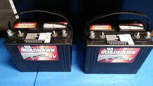 Roadhawk heavy duty deep cycle RV battery for Sale in Fresno, CA