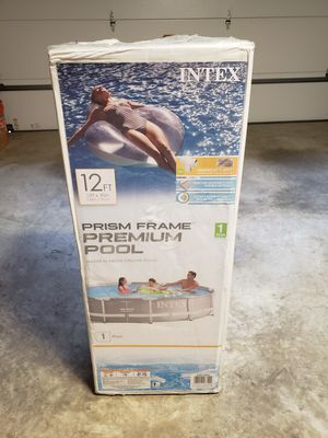 "Intex 12' x 30"" Above Ground Prism Frame Pool for Sale in Glen Burnie, MD"