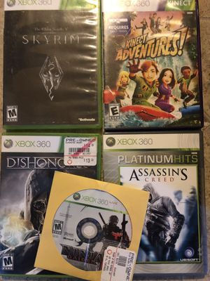 Xbox 360 game bundle for Sale in Coventry, RI