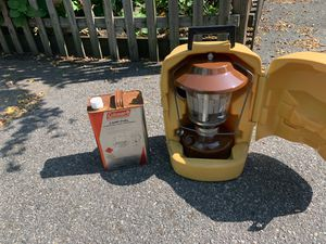 Coleman lantern, carry-case, and fuel for Sale in Hasbrouck Heights, NJ
