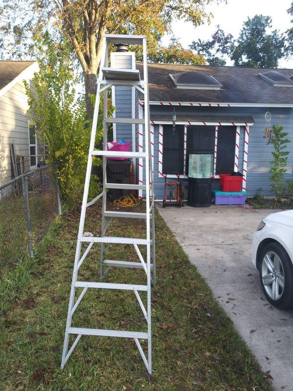 8 foot aluminium step ladder
