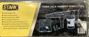 New Demolition Jack Hammer Set w/Attachments (still in box) for Sale in Wilsonville, OR