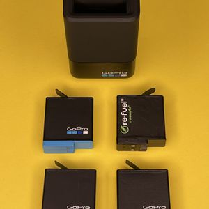 GoPro Hero 8/7 Batteries w/ charger for Sale in Millbrae, CA