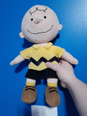 Charlue brown plushie for Sale in Greenwood, IN