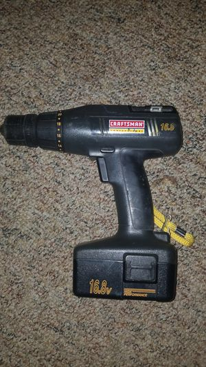 CRAFTSMAN CORDLESS DRILL 16.8V for Sale in Bernville, PA