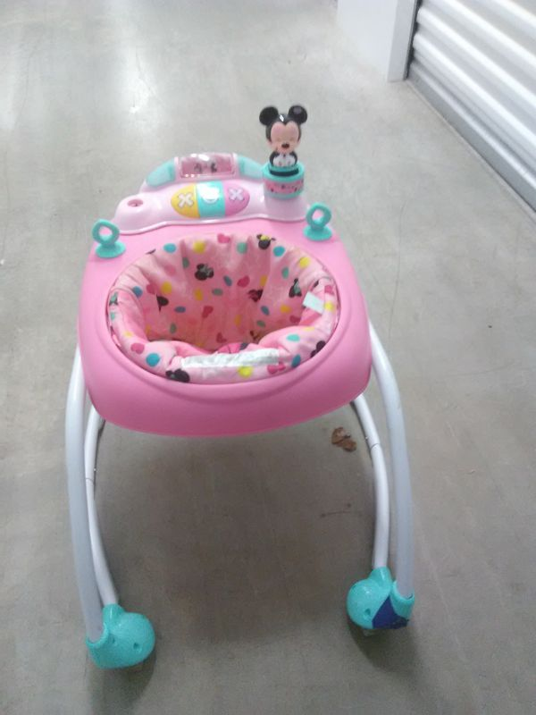 Mickey Mouse baby walker toy pink girls boys yellow green white