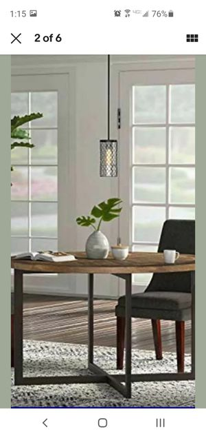 Stone & Beam wire cylinder cage LED pendant light for Sale in Hilliard, OH