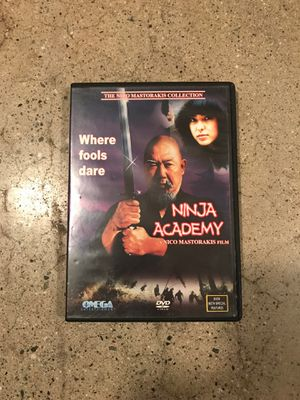 NINJA ACADEMY NICO MASTRAKIS FILM KUNFU FLICK DVD RARE for Sale in West Covina, CA