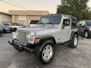 2003 Jeep Wrangler for Sale in Tampa, FL
