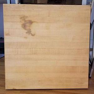 """XL Heavy duty Culinary Professional Wood Cutting Board 24""""x24""""x1.75"""" for Sale in Los Angeles, CA"""