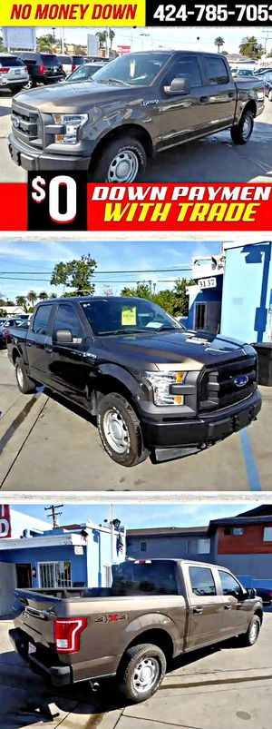 2017 Ford F150XL SuperCrew 6.5-ft. Bed 4WD for Sale in South Gate, CA
