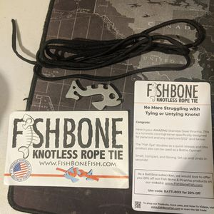 Fishbone Knotless Tie Down System for Sale in Chico, CA