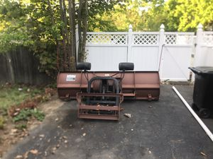Curtis snow plow for Sale in Revere, MA