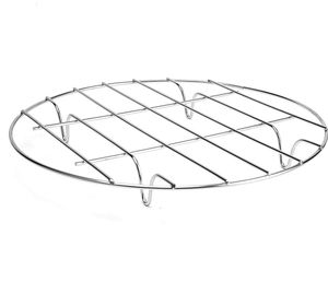 Round Stainless Steel Steamer Rack - Cooling Rack for Baking, Cooking, Steaming, Lifting Food in Pots, Air Fryer, Pressure Cooker for Sale in Louisville, KY