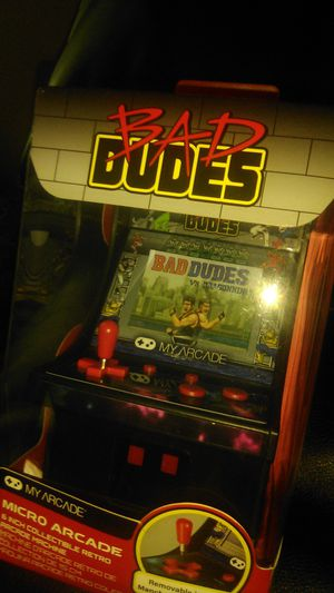 New Bad Dudes mini arcade for Sale in Raleigh, NC