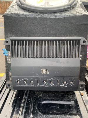 """2- 13"""" JL Audio Center Console System for Sale in Denver, CO"""