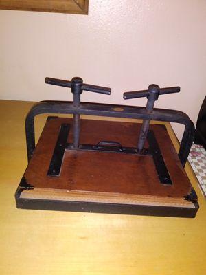 Antique Aamel 1930s book press for Sale in Orlando, FL
