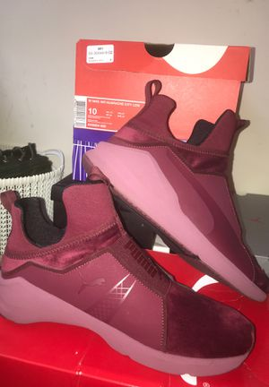 Women's Puma Shoes Burgundy Size 11 for Sale in Rockville, MD