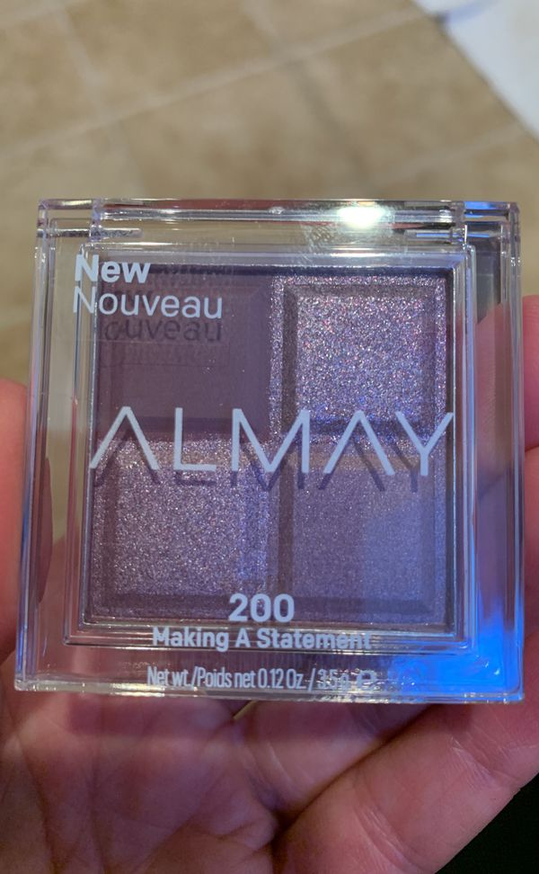 Almay eyeshadow quads - please see all the pictures