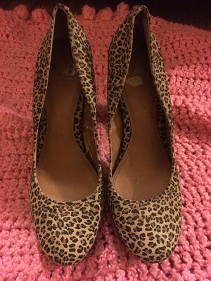Cheetah Print Heels for Sale in El Dorado, AR