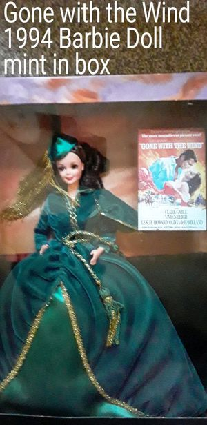 Mint in box Gone with the Wind Barbie for Sale in Lebanon, TN