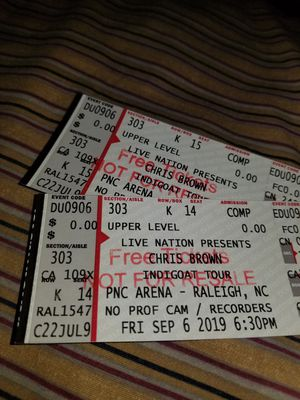 Chris Brown concert for Sale in Louisburg, NC