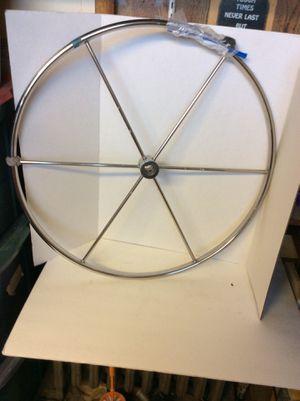 Destroyer sailboat wheel for Sale in Johnston, RI
