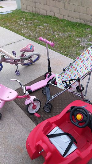 Kids toys and stroller $35 for all for Sale in Fontana, CA