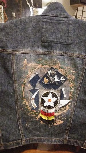 Hand decorated. Vest. Size. Med to. Lge for Sale in Walton Hills, OH