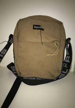 Supreme Shoulder Bag (SS18) Tan for Sale in Redwood City, CA