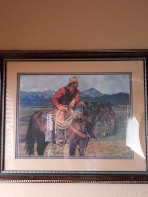 NICE WESTERN PICTURE for Sale in Las Vegas, NV