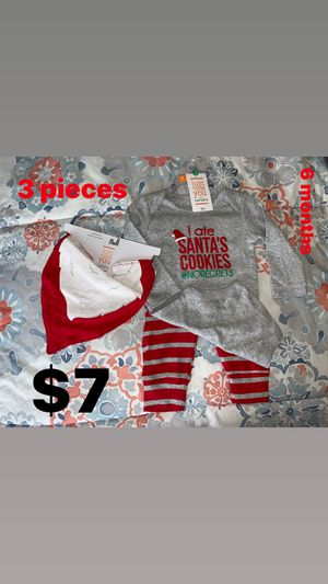 6 months Santa 🎅 Outfit $7 for Sale in Paramount, CA