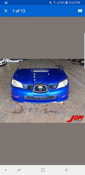 Used JDM 2006-2007 Subaru Impreza WRX STi Version 9 Hawk Eye Front End Nose Cut for Sale in Atlanta, GA