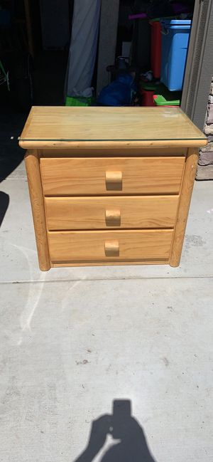 Custom pine log dresser and tables for Sale in Bend, OR