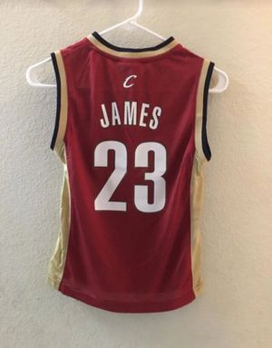 Lebron James Cleveland cavaliers #23 Reebok NBA Basketball Jersey Youth sz S for Sale in Bonita, CA