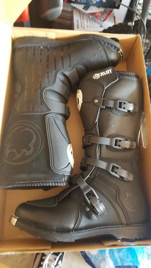Motor cycle boots size 10 for Sale in Lubbock, TX