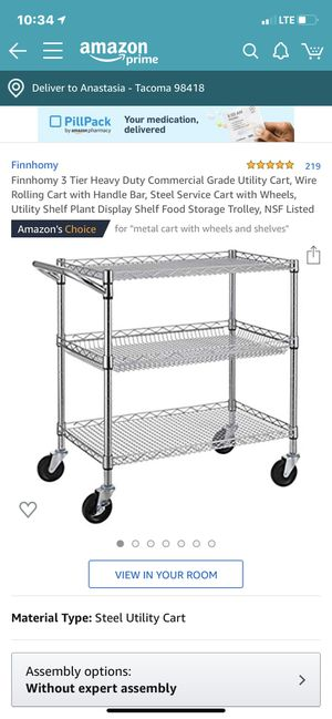 Kitchen cart for Sale in Tacoma, WA