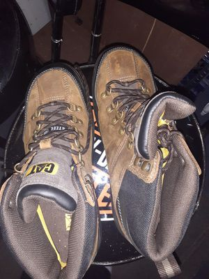 Catpillar work boots size 10 for Sale in Seattle, WA