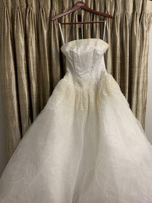 Cassini Wedding Dress - Size 10 for Sale in Winfield, IL