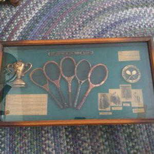 Shadow Box - History Of The Tennis Racket for Sale in Scottsdale, AZ