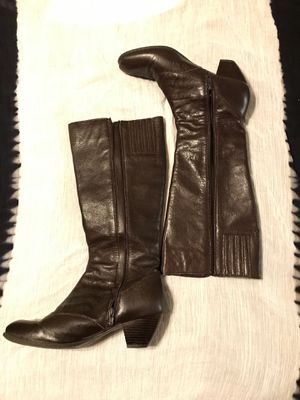 Brown Leather Born boots-10B for Sale in Hyattsville, MD