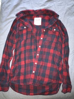 Red and blue flannel size small for Sale in Durham, NC